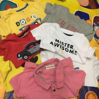 Bundle shirts 3t