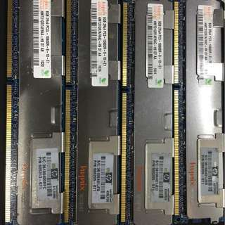 8GB FB RAM DDR3 10600 for Server and Mac pro pc