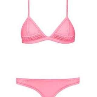 Triangl pink bikini