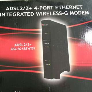 Aztech DSL1015EW(S) wireless modem