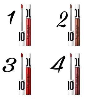 OLLA by OLLA RAMLAN matte liquid lipstick