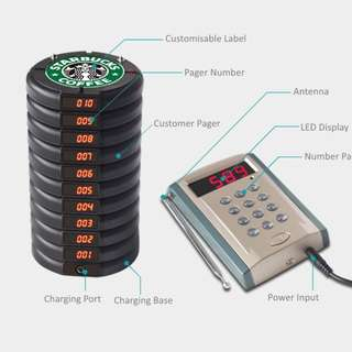 Brand New Customer Paging System for Sale