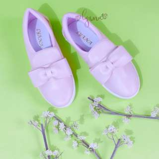 SLIP ON KELLY BOW PINK!