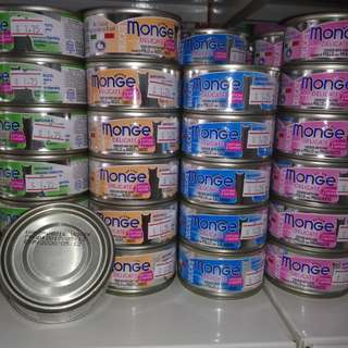 Monge 24 Can Cat Food with Goat Milk