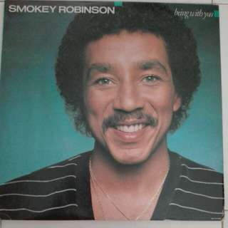 Smoky Robinson Being With You Vinyl LP Record
