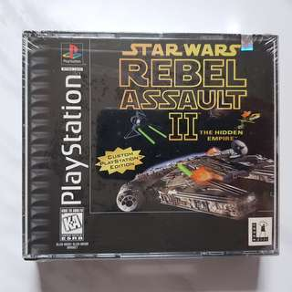 PS1 Star Wars Rebel Assault 2