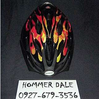 Repriced! Schwinn Thrasher Boys Bicycle Helmet Orange Flames