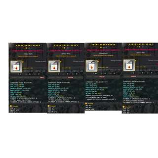 maplesea maplestory aquila accessory equips for all jobs str / dex / int / luk / hp