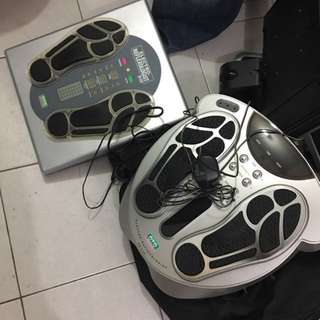 Leg massager for full legs reflection