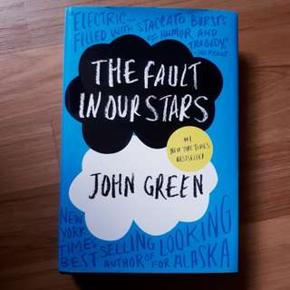 [Book] John Green - The Fault In Our Stars (Hardcover)