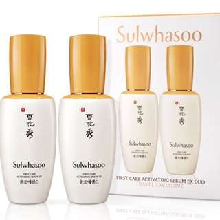 Sulwhasoo First Care activating serum 60ml x2