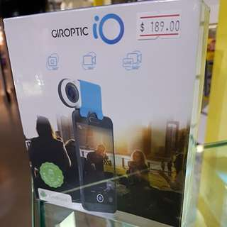 Giroptic IO 360 camera Android