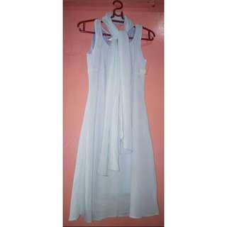Formal dress with shawl