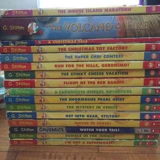 Geronimo stilton/Thea Stilton books
