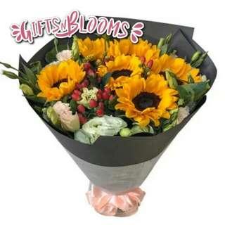Valentine Bouquet Anniversary Gift Fresh Flower Bouquet V17 - EXDJS