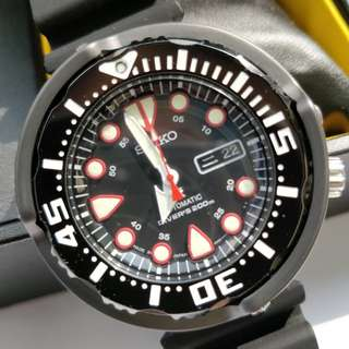 Seiko 'baby tuna' SPR655j1 Prospex 50th Anniversary. Made in Japan version