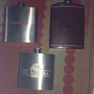 Liquor flask 3pcs take all