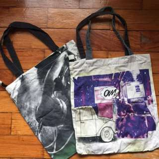 Artwork Canvas Tote Bags