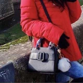 Mini bag black sling fashion tas wanita hitam