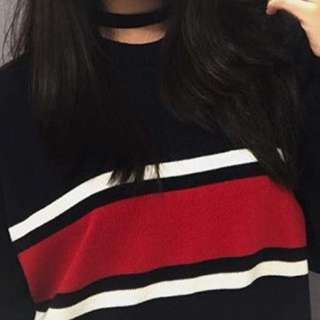 LF SIMILAR STRIPED SWEATER (NOT SELLING)