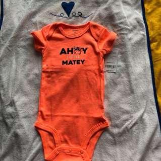 Carter's onesie ahoy little matey