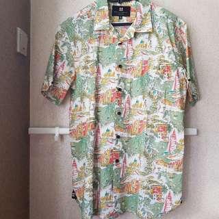 Salt n Pepper Hawaiian Shirt