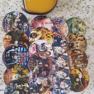 Jumbo Discs Bag With Movies