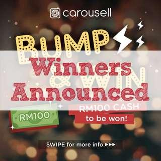 Bump & Win RM100!