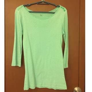 Gap green long sleeves shirt