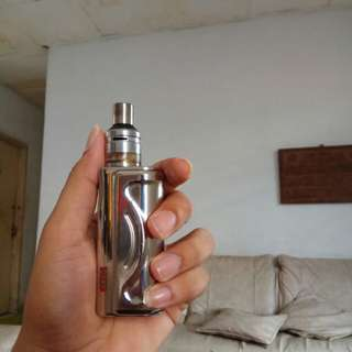 AK60 made by ADVKEN, atomizer merk PINDAD