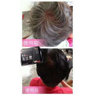 Herbage Black Colour Hair Wash (田七酵素洗洗黑)