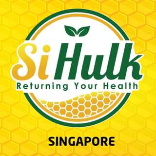 Si Hulk 100% Organic herbal drink for illness
