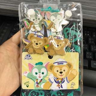 Hkdl duffy Gelatoni pin 一套4個連帶