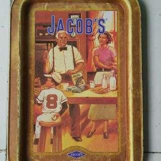 Nampan enamel jacob's 1960