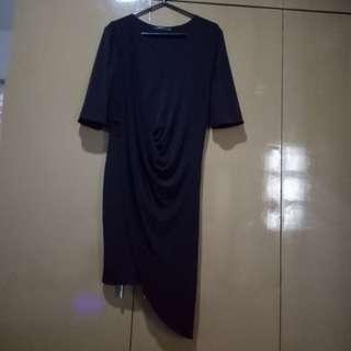 FREE SHIPPING (BNEW) SM Woman Black Dress (XL)