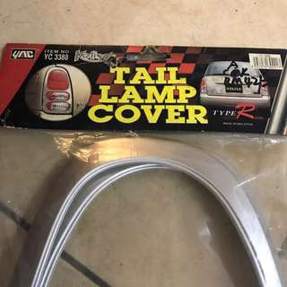 Kelisa tail lamp cover chrome