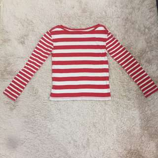 stripe Gap top