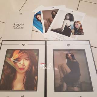 Suzy 2nd Mini Album Faces of LOVE