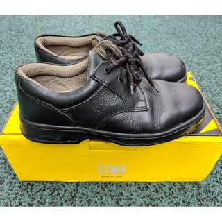 K2 Safety Ankle Shoes (Black) - TE601X