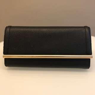 Charles & Keith Long Wallet (black)