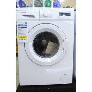 Mesin cuci SHARP kabinet boomearang kredit cuma bayar 199rb di awal
