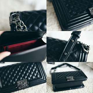 Chanel Boy So Black Limited Edition