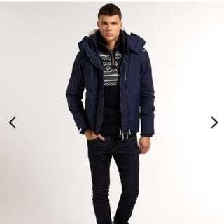 Brand new Superdry Sherpa Windcheater Jacket