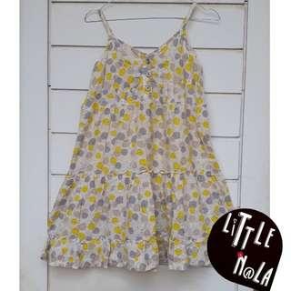 Dress tali kuning
