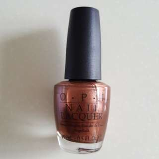 OPI Brisbane Bronze NLA45 (Green Label)