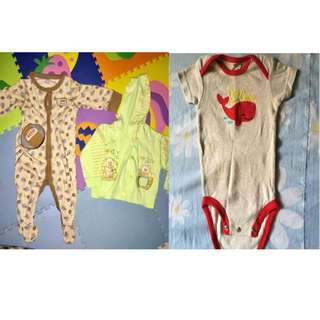 baju bayi 0-6 bulan, (take all 50rb)
