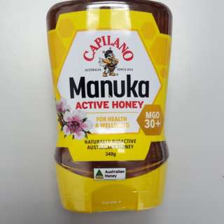 Capilano Manuka 澳洲麥蘆卡蜜糖,340克,MGO 30+