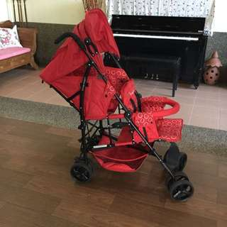 Kinderwagon twins stroller