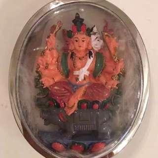 西藏不丹寺密宗法器 摩利支天菩薩 (七仙羽師傅極力推介)