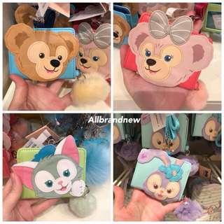 PO Hong Kong Disneyland Duffy, Shelliemay, gelatoni And Stella Lou lanyard card holder
